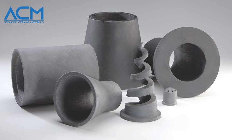 Silicon carbide ceramic materials