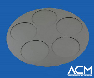 Silicon Carbide Coated Graphite Trays