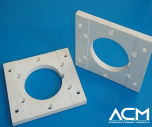 Aluminum Nitride Custom Machined Parts