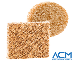 Zirconia Ceramic Foam Filter